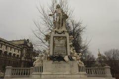 Statue of Wolfgang Amadeus Mozart Stock Photo