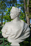 The statue of a woman. Stock Image