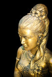 Statue of a woman. In ancient Thai literature. Stock Image