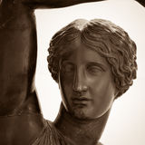 Statue of a woman as symbol beauty Royalty Free Stock Image