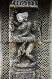 STATUE OF A WOMAN AT KONARK TEMPLE OF ORISSA-INDIA Royalty Free Stock Images