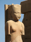 Statue of a woman, Luxor Royalty Free Stock Photography