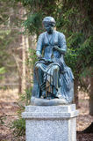 Statue of a woman in Pavlovsk park Stock Photography