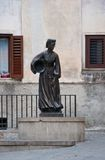 Statue of a woman from scanno Royalty Free Stock Image