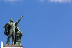 Statue of workers, Moscow, Russia Royalty Free Stock Photo