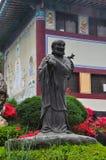 Statue at Wowoojongsa temple , south korea Stock Image