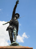 Statue of WW1 soldier Stock Images