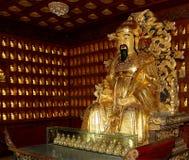 Statue of Xuanzang. Great Wild Goose Pagoda, Xian, China Stock Photo
