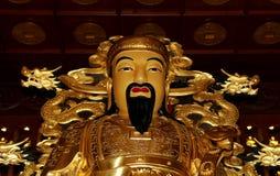Statue of Xuanzang. Great Wild Goose Pagoda, Xian, China Stock Photos