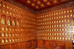 Statue of Xuanzang. Great Wild Goose Pagoda, Xian (Sian, Xi'an), China Stock Photo