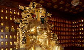 Statue of Xuanzang. Great Wild Goose Pagoda, Xian (Sian, Xi'an), China Stock Images