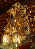 Statue of Xuanzang. Great Wild Goose Pagoda, Xian (Sian, Xi'an), China Royalty Free Stock Image