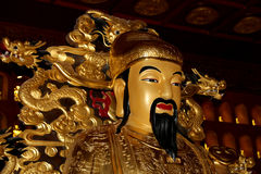 Statue of Xuanzang. Great Wild Goose Pagoda, Xian (Sian, Xi'an), China Royalty Free Stock Photography