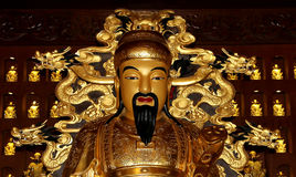 Statue of Xuanzang. Great Wild Goose Pagoda, Xian (Sian, Xi'an), China Royalty Free Stock Image