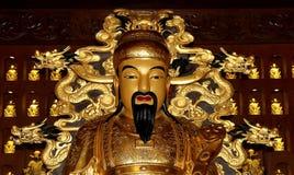 Statue of Xuanzang. Great Wild Goose Pagoda, Xian Royalty Free Stock Photo