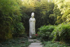 Statue of Xue Tao Royalty Free Stock Images