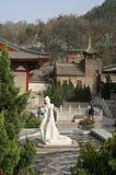 A statue of Yang Guifei at Xian Huaqing Hot Spring. Xian, China - March 20, 2010 - A statue of Yang Guifei at Xian Hot Spring royalty free stock photo