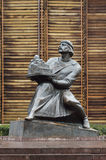 Statue of Yaroslav the Wise in Kiev Royalty Free Stock Photography