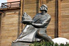 Statue of Yaroslav the Wise in Kiev Royalty Free Stock Photo