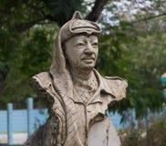 A Statue of Yasser Arafat in Havana, Cuba stock image