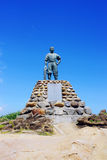 Statue of Yehliu geopark. A statue in the Yehliu geopark Royalty Free Stock Images