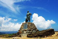 Statue of Yehliu geopark Stock Photos