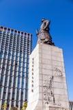 The statue of Yi Sun-Shin Royalty Free Stock Photography