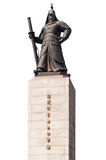 Statue of Yi Sun-Sin Seoul. Royalty Free Stock Photography