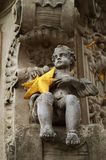 Statue. Of young boy near the Nitra castle Royalty Free Stock Photos