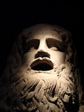 The statue of Zeus. In Istanbul. Zeus head Royalty Free Stock Images