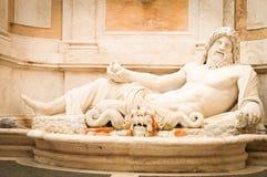 Statue of Zeus. In Rome, Italy Stock Image