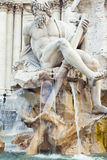 Statue of Zeus, Rome Stock Image