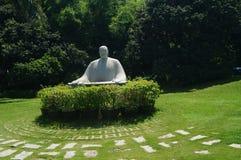 Statue in Zhongshan Park, Shenzhen, China Stock Image