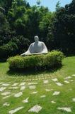 Statue in Zhongshan Park, Shenzhen, China Stock Photos