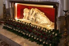 Statue zu Santa Lucia Lizenzfreie Stockbilder