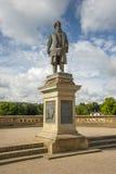 Statue zu Sir Titus Salt, in Saltaire Stockfoto