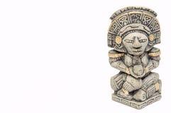 玛雅statue1 免版税库存图片