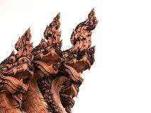 Statuekönig von nagas Lizenzfreies Stockfoto