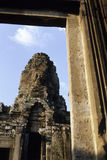 Statuen Angkor Wat Ruinen, Kambodscha Lizenzfreie Stockbilder