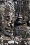 Statuen Angkor Wat Ruinen, Kambodscha Stockfotos