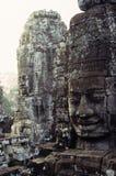 Statuen Angkor Wat Ruinen, Kambodscha Lizenzfreie Stockfotografie