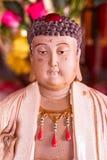 Statuen Budhist Buddha im chinesischen Tempel Stockfotografie