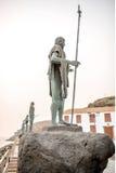 Statuen der guanches Stockbilder