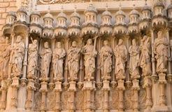Statuen der zwölf Apostel Stockfotos