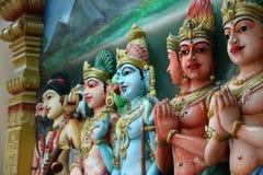 Statuen des hindischen Gottes stockbilder