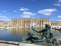 Statuen des Versailles-Palastes stockbild