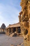 Statuen des Vitthala Tempels Stockfoto