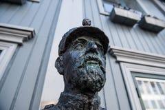 Statuen-Fehlschlag Stockbild
