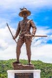 Statuen-großen Königs von Thailand in Rajabhakti-Park Stockbilder
