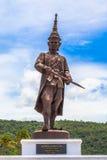Statuen-großen Königs von Thailand in Rajabhakti-Park Lizenzfreie Stockfotografie